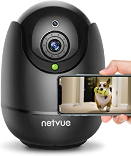 Best Dog Camera-1080P FHD Pet Camera with Phone App, Pan/Tilt/ Zoom Puppy Camera with 2-Way Audio, AI Human Detection, Night Vision Cloud Storage / TF Card Work with Alexa Wireless Security Camera for Home Review