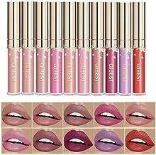 Coosa Glitter Shimmering Liquid Lipstick Set 10 Colors Shinning and Colorstay Lip Gloss (10 PCS-Set 1)