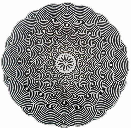 Große Muster, Holzblock Stempel/Tattoo/indischen Textildruck Block
