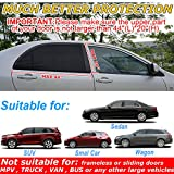 Car Window Shade, Universal Sun Shade for Car Window, Mesh Car Side Window Shades for Baby, UV Privacy Protection SUV Car Mosquito Net for Kids, Driver, Passengers, Fit Most of Vehicle - 2 Pack