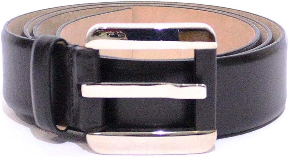 Dolce & gabbana d&g, cintura per  uomo,in vera pelel al 100 % DC0891E14F/80999