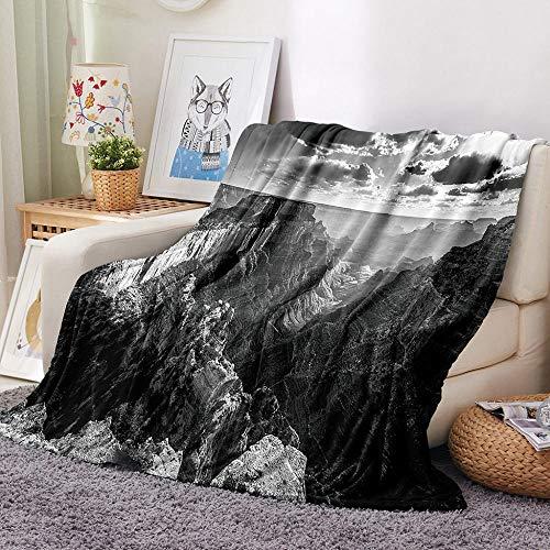 HGWSYUD Flanell schöne Decke 3D-Druck Decke Bett werfen Sherpa Decke weiche und...