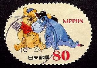 Eeyore, Winnie The Pooh -Handmade Framed Postage Stamp Art 22228AM