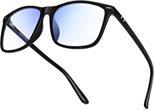 YAROCE Blue Light Blocking Glasses Anti Glare Computer Glasses Vintage Blue Blocker Glasses Square Blue Light Glasses Women Men UV Protection