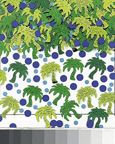 Confettis Palmier Hawaï - Taille Unique