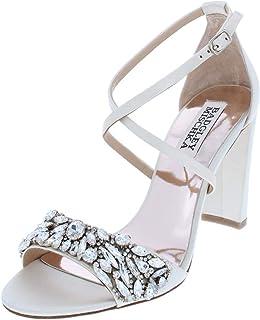 c29d2e5d6f79 Badgley Mischka Womens Harper Solid Embellished Dress Sandals