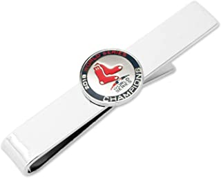MLB 2018 Boston Red Sox World Series Champions Tie Bar, Officially Licensed