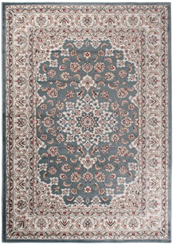 Carpeto Rugs Tapis Salon Turquoise 200 x 300 cm Oriental/Ayla Collection