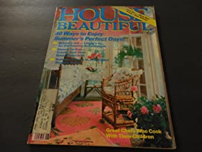 House Beautiful Jun 1981 Cooking Your Children; Old Country Schoolhouse