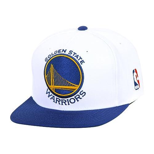 48d970d7 Mitchell & Ness Golden State Warriors XL Logo Snapback Hat / Cap
