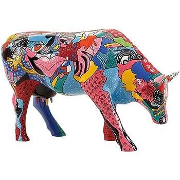 30cm Cowparade Vache #46788 R/ésine Shayas Dream - L