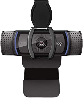 Logitech Webcam C920S HD Pro with Privacy Shutter - 1080p Streaming Widescreen Video Camera - Built in Microphone for Reco...