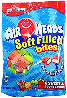 Product Of Airheads, Soft Filled Bites , Count 12 (6 oz ) - Sugar Candy / Grab Varieties & Flavors