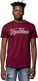 Young and Reckless - OG Reckless Tee - Burgundy - - Mens - Tops - Graphic Tee -