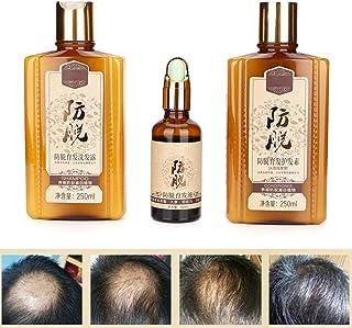 Champú suave y humectante profundo+acondicionador con aceite para el cabello,control de aceite Resurrección Reparar Prevenir el adelgazamiento del cabello y el cuidado del cabello profundo Reparaci