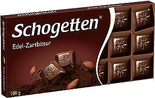 Schogetten Dark Chocolate Bar Candy Original German Chocolate 100g/3.52oz