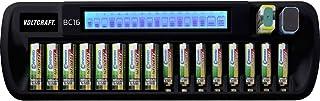 VOLTCRAFT BC16 Batteriladdare NiMH, LiIon AA (R6), AAA (R3), 9V block (6F22)