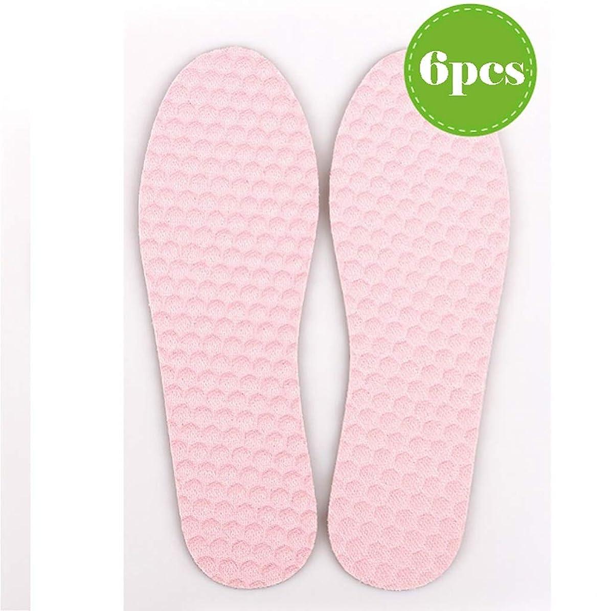 レイアウト動力学コマース作業靴 6足のスポーツインソール、快適なマッサージインソール、汗/消臭剤/通気性/ウォーキング/ランニングとハイキング 安全靴 (Color : F, Size : 43)