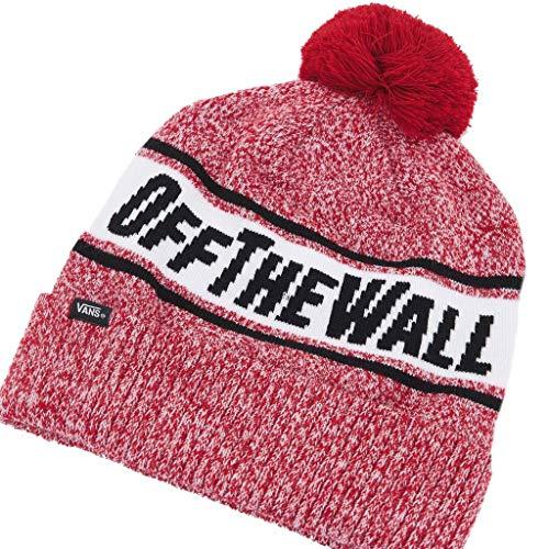 Vans Gorras Off The Wall Pom BE para Hombre Rojo Talla única