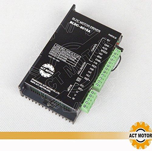 DE-SHIP FREE 1PC Nema23 BLDC Motor Driver BLDC-8015A-5 24V 3000RPM 8Poles, 3 Phases CNC OEM ACT MOTOR GmbH