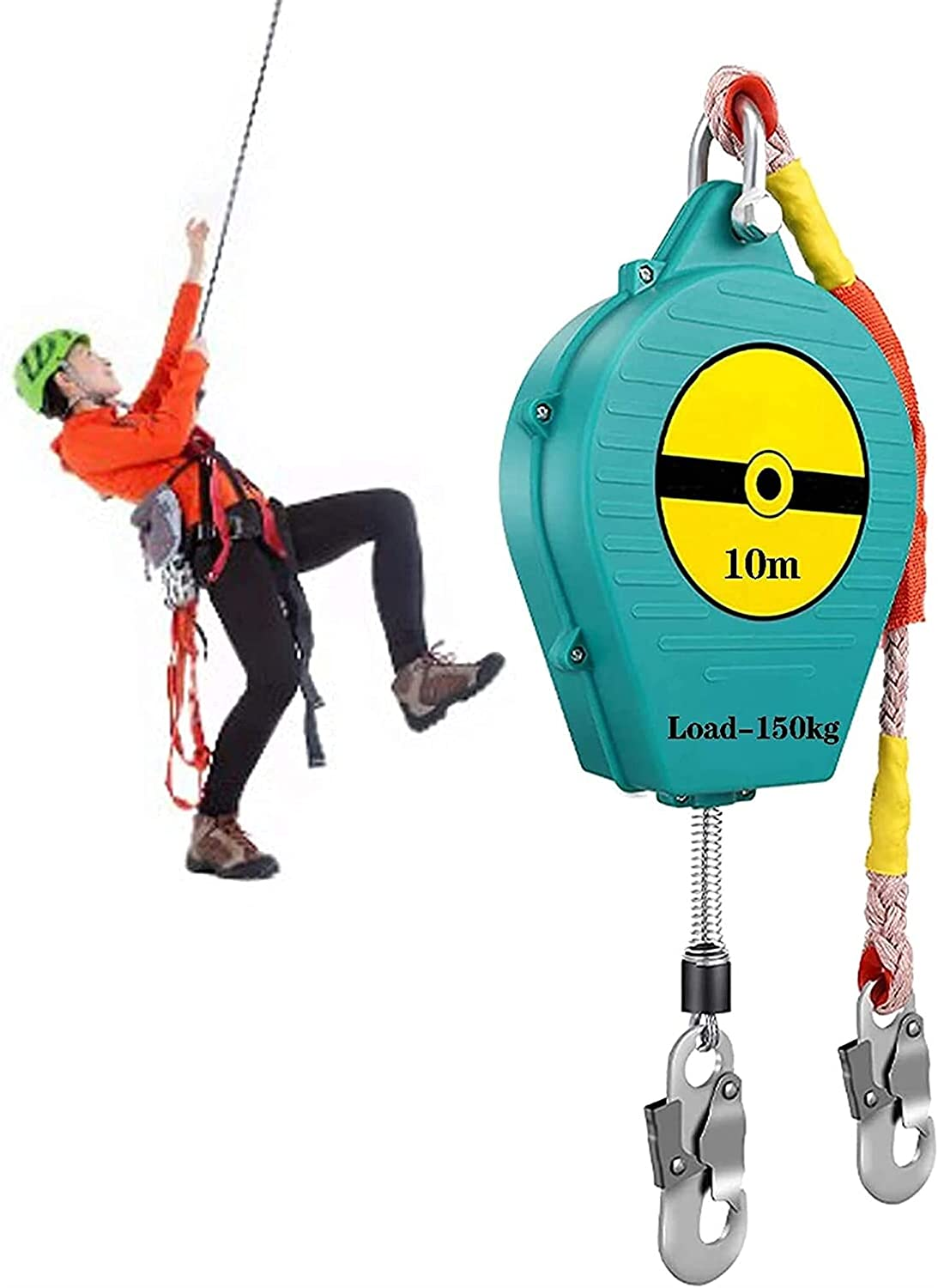 Anti-drop rope Max 88% OFF kit Self Retracting Limited time trial price Fall Lifeline Horizontal Pro
