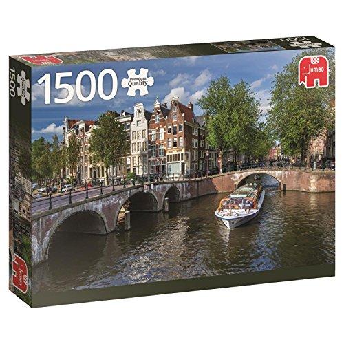 Jumbo 18578 Puzzel Amsterdam Herengracht: 1500 Stukjes