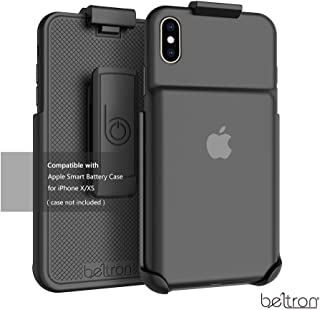 BELTRON Belt Clip Holster Compatible with Apple Smart Battery Case (for iPhone Xs) - Smart Case NOT Included