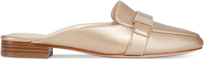 Alfani Womens AIDAA Slip On Loafer shoes M Light gold 7M