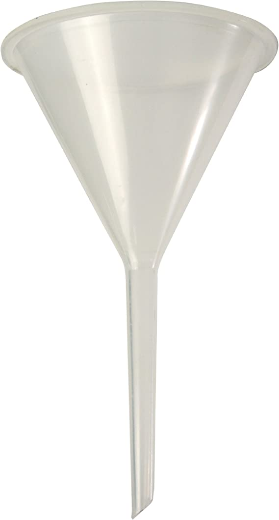 Kartell 241605 Polypropylene Analytical Funnel