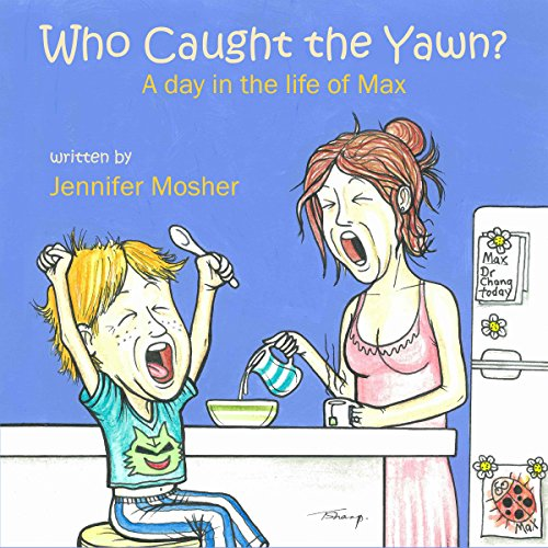 Who Caught the Yawn? audiobook cover art