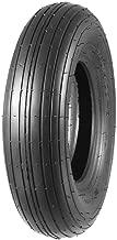 MaxAuto Wheelbarrow Tire 4.80/4.00-8 4.80x8 480x8 Universal Fit Mowers, Hand Trucks, Carts, 4PR