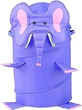 RedmonUSA Redmon for Kids The Original Bongo Bag Elephant Pop Up Hamper, Purple