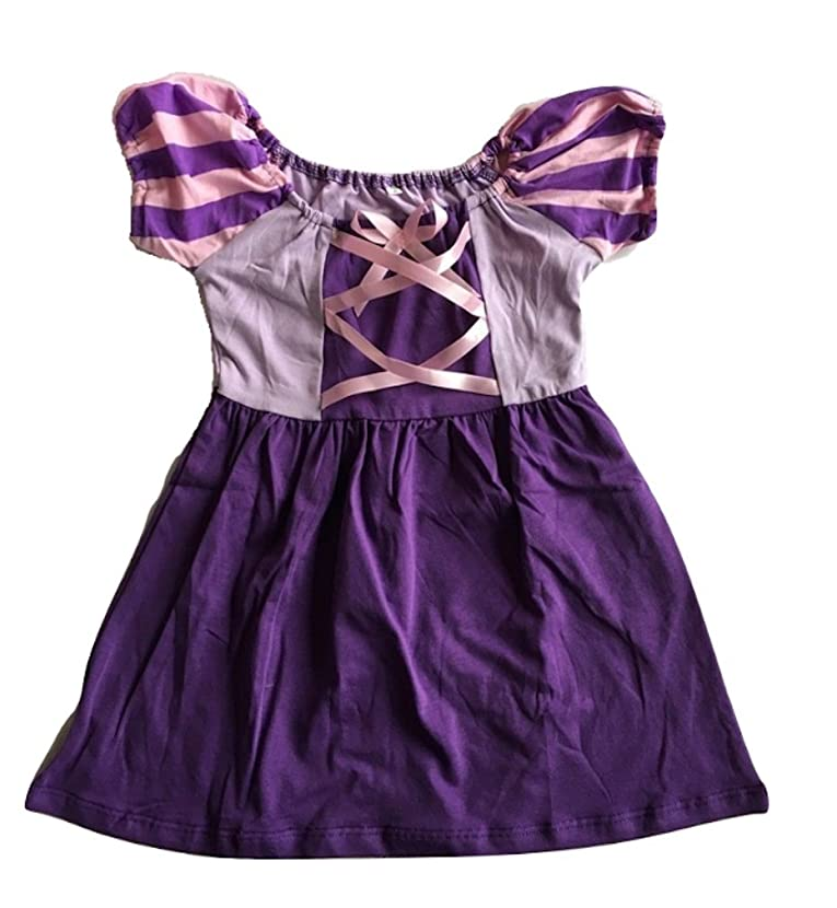 L C Boutique Girls Cotton Play Dress Princess in Sizes 2 to 12