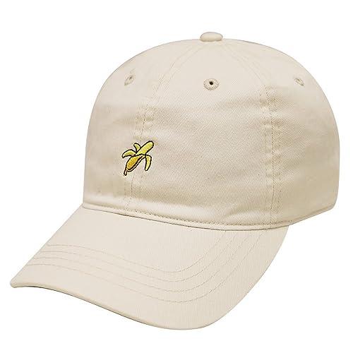 City Hunter C104 Small Banana Embroidery Cotton Baseball Cap 12 Colors
