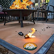 Amazon Com Fire Pit Mat