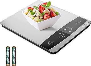 OVOOR Balance Cuisine Electronique Balance de Précisio, Balance Numérique de Cuisine Balance Alimentaire Multifonction,10 ...