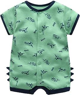 Bebé Pijama Niños Pelele de Algodón Body Manga Corta