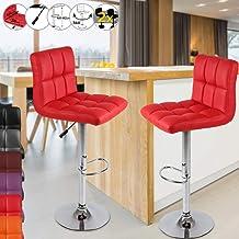 : meuble haut cuisine Rouge