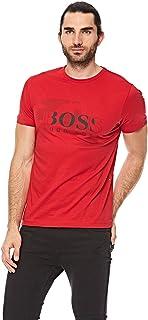 Hugo Boss T-Shirt for Men - Medium Red