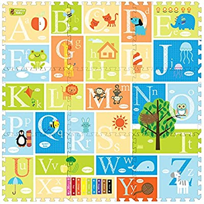 Creative Baby 9 Piece Interactive Playmat i-Mat
