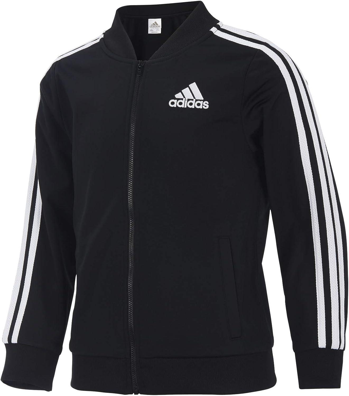 adidas girls Print Tricot Jacket (Big Kids)