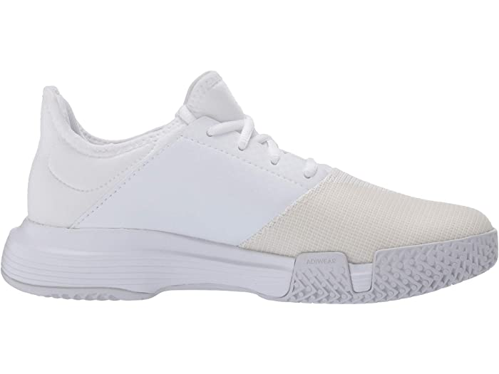 Adidas Gamecourt Footwear White/footwear White/dash Grey Sneakers & Athletic Shoes