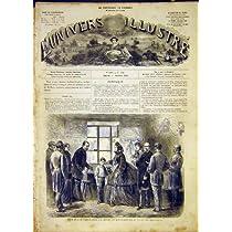 皇后の若い囚人の家のフランス人の印刷物 1865