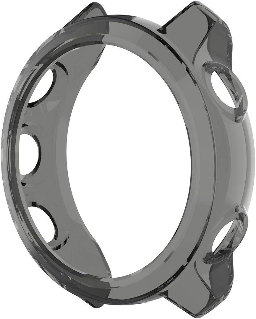 poliuretano termopl/ástico color negro LOKEKE Funda protectora para Garmin Forerunner 45 de TPU