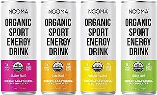 NOOMA Organic Sport Energy Drink | 120mg Caffeine + Adaptogens + Electrolytes | Real Ingredients, Keto, Plant-Based, Paleo...