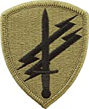 Civil Affairs & Psychological Operations Cmd / OCP Patch With Hook Fastener