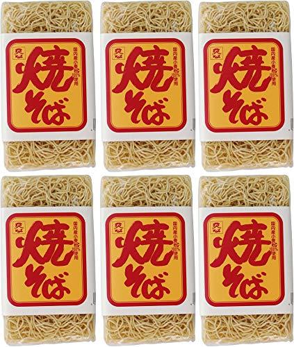 無添加 国産 焼きそば 180g×6個 ★ 宅配便 ★ 国内産 小麦粉 を使用し、かんすい不使用・化学調味料不使用・添加物を一切使用せず仕上げた焼きそばです。