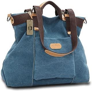 (TM) Women's Casual Canvas Top-Handle Bag Shoulder Bag