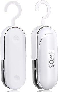 EWOS Mini Heat Bag Sealer, Handheld 2 in 1 Heat Sealer and Cutter Portable Bag Resealer Sealer for Plastic Bags, Mini Heat...