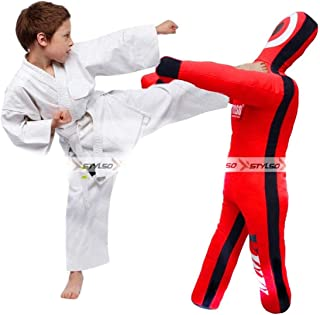 Stylso Kids Wrestling Dummy Boys Grappling Dummies - Brazilian Jiu Jitsu BJJ Mixed Martial Arts MMA Boxing Judo Karate Tra...